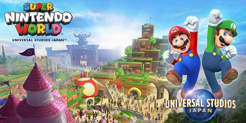 Super Mario World USJ Japan