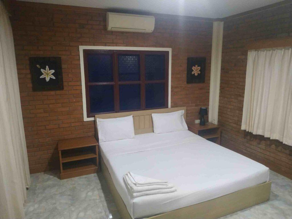 inside the Villa King Bed Room