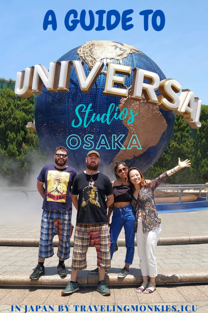 USJ Universal Studios Osaka Japan Guide