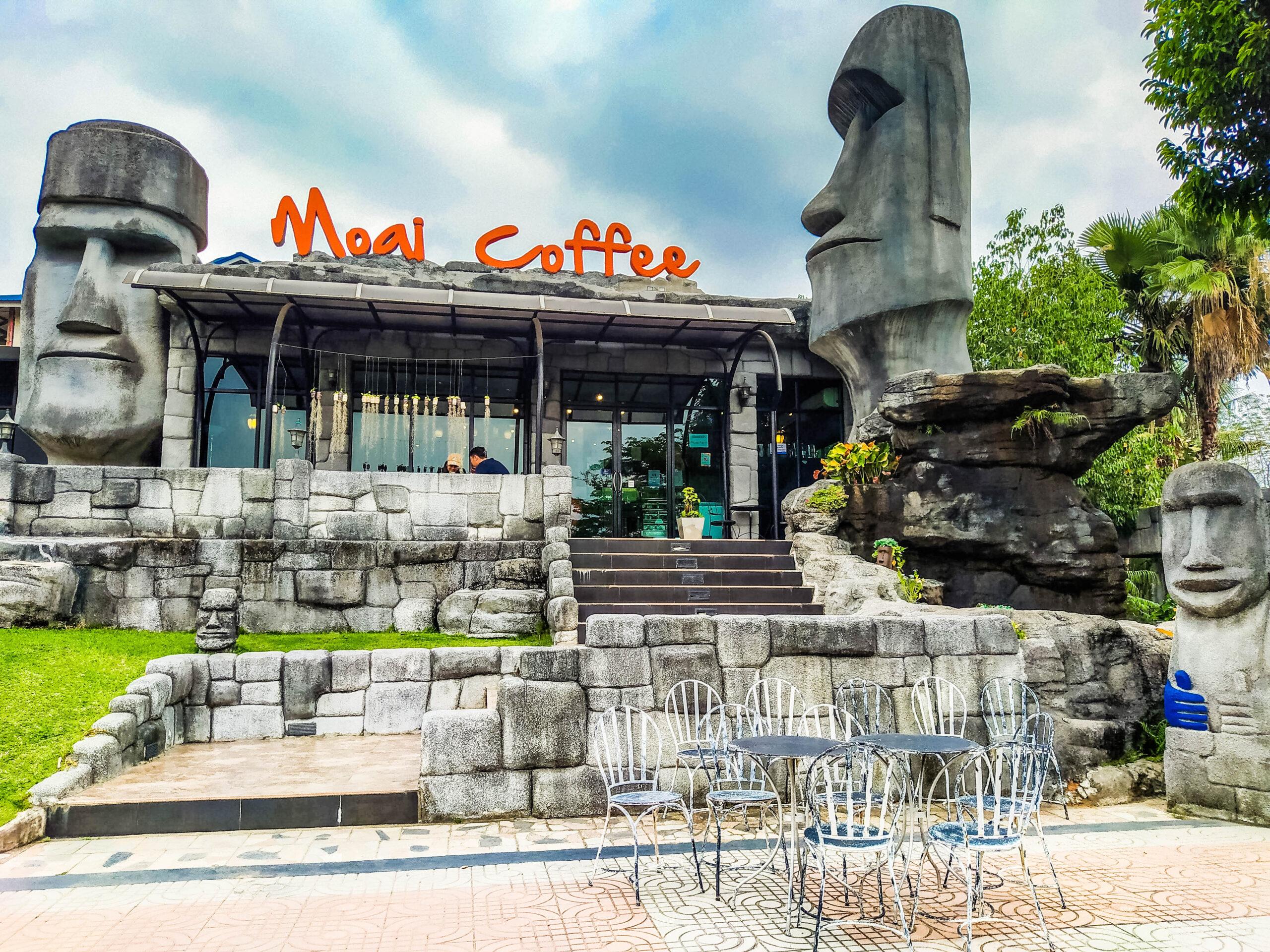 Moai Coffee – ร้านกาแฟ โมอาย คอฟฟี่ –  Suan Phueng