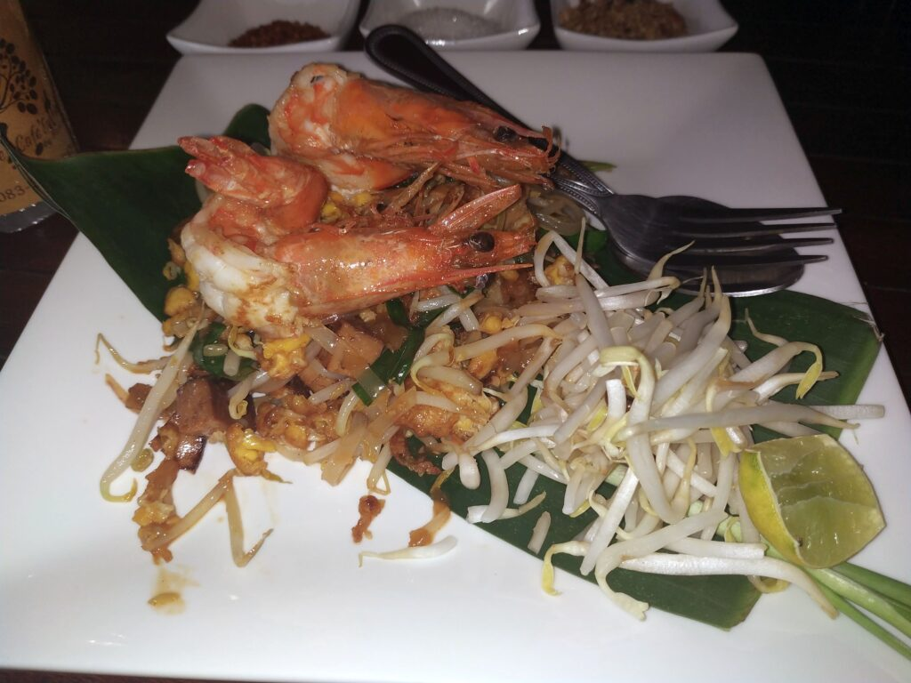 pad thai prwan