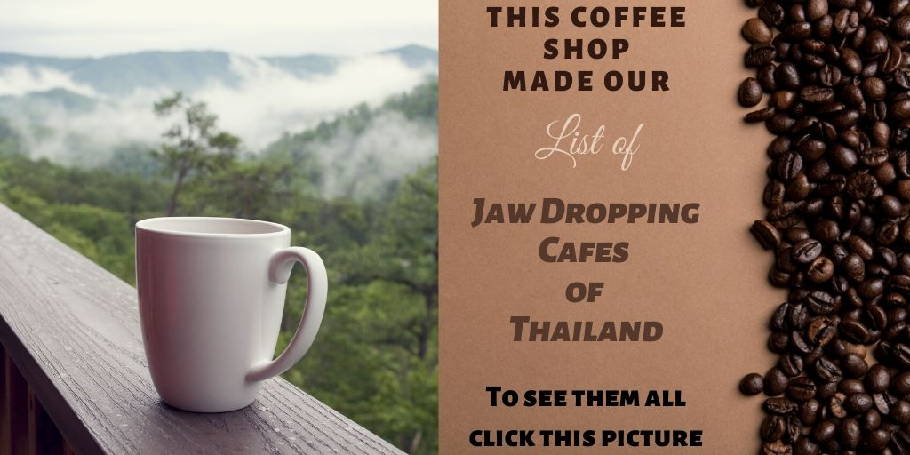 A list of the most amazing coffee shops in Thailand