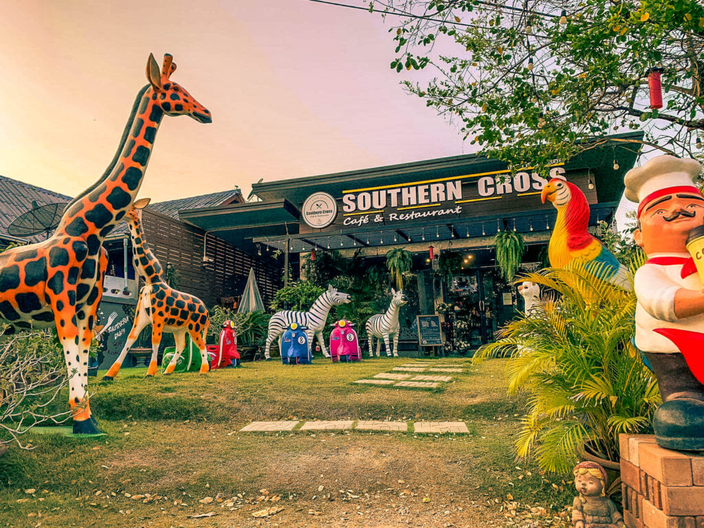 Southern Cross Cafe Restaurant Thailand