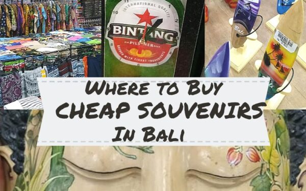 Buying Souvenirs in Bali at Krisna Super Store